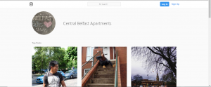 central belfast appartment self catering accomodation