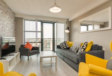 Central Belfast Apartments: Victoria Place